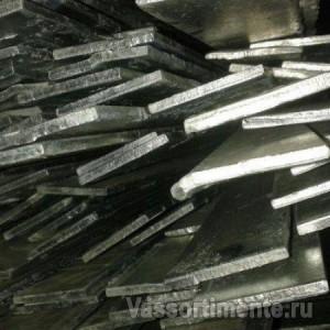 Полоса оцинкованная 2х20 мм ст3 L=6м ГОСТ 103-2006